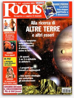 Cover illustration - Focus magazine