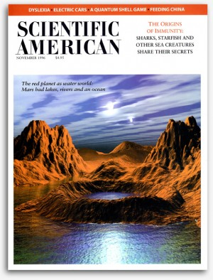 Cover illustration - SciAm magazine